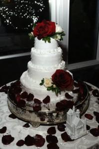 wedding, wedding cake, bride, daughter, love, special, nighttime, formal wedding, elegant, lynne st. james