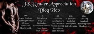 blog hop, JK Blog Hop, readers, publisher, authors, new books, prizes, gift cards, december, lynne st. james