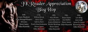 blog hop, JK, JK Publishing, readers, authors, prizes, gift cards, books