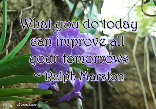 marston, today, improve, goals, tomorrow, motivation, lynne st. james, monday quotes, quote, happiness