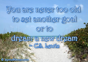 beach, florida, sea shore, CS Lewis, dream, old, goal, inspiration, lynne st. james