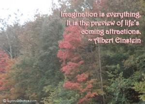 albert einstein, einstein, imagination. monday quotes, monday, quote, lynne st. james