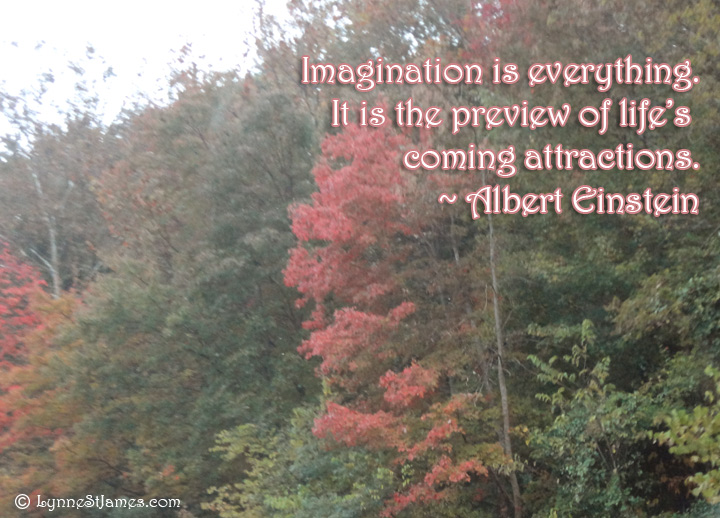 albert einstein, einstein, imagination. monday quotes, monday, quote, lynne st. james