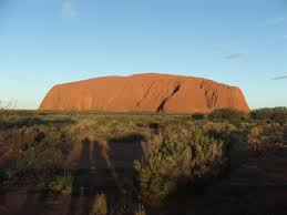 ayers rock, australia, outback, hiking, wilderness.