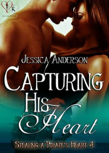 capturing his heart, pirates, romance, jessica anderson, jk publishing, erotic romance, pirates, love, heart