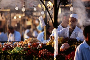 food, locals, herbs, spices, flavors, india. lynne st. james