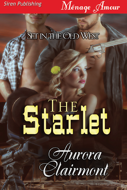 aurora clairmont, clairmont, The Starlet, romance, erotic romance, menage, siren-bookstrand, siren publishing, books, wednesday words, words.  debut author, author