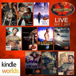 Brotherhood Protectors Kindle World Launch Sept. 7