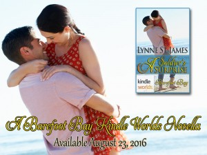 A Soldier's Surprise, Beyond Valor, Kindle Worlds, Barefoot Bay, military, romance, family saga, women, love, romance, military romance, contemporary romance