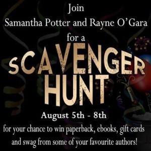 jk publishing, scavenger hunt, rayne o'gara, samantha potter, new, authors, debut, erotic romance, romance, erotic, lynne st. james, facebook event, facebook, buy books, covers