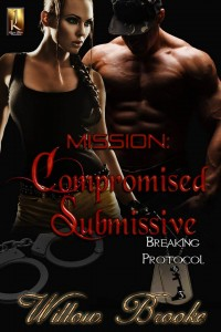 mission: compromised submissive, compromised submissive, mission, breaking protocol, series, protocol, willow brooke, military, submissive, jk publishing