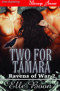 two for tamara, elle boon, ravens of war, series, erotic romance, paranormal, fantasy, siren publishing