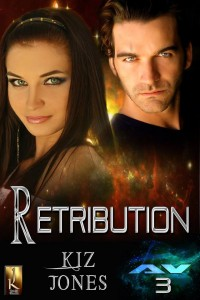 Kiz Jones, Retribution, YA Books, youth, jk publishing, sci-fi, lynne st. james