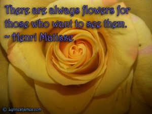monday quotes, monday, quotes, flowers, beauty, nature, henri metisse, lynne st. james, nature, love, life