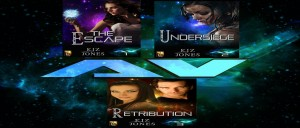 Kiz Jones, Atlantis Voyager, Atlantis Voyager Series, Retribution, sci-fi, ya, books, author, young adult writing, lynne st. james