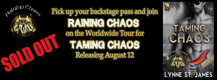 taming chaos, release event, rock n' roll, raining chaos, prizes, contents, jk publishing, lynne st. james, erotic romance, new adult romance, heavy metal romance, romance, books, authors, party, new release