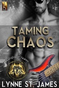 taming chaos, raining chaos, erotic, rock band, band, rocker books, jk publishing, lynne st. james, rock music, books