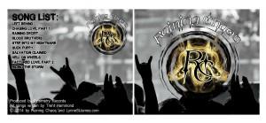 raining chaos, album, cd, taming chaos, rocker romance, romance, erotic, HEA, chaos, cynda, love on tour, rock band, jk publishing, lynne st. james, rock n' roll, book, writing,