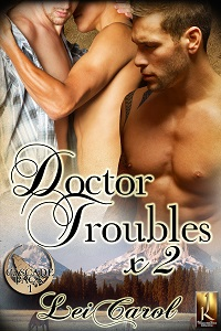 doctor troubles x2, lei carol, jk pubilshing, mm, erotic romance, male-male, romance, happily ever after, jk publishing