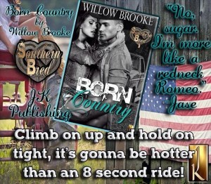 born country, willow brooke, southern bred, jk publishing, series, erotic romance, welcome to the south, wild ride,