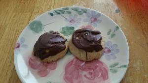 peanut butter surprise, lynne st. james, cookies, christmas cookies, reeses peanut butter cups, peanut butter cookies, chocolate, surprise,