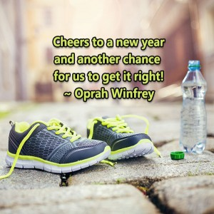 new year, oprah, oprah winfrey, lynne st. james, new chances, positive, be motivated, get it right, chances