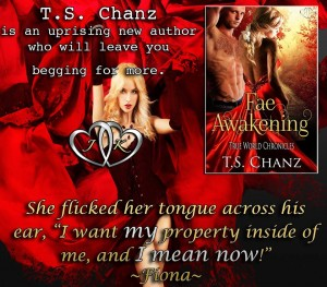 fae awakening, t.s. chanz, jk publishing, new release, paranormal, romance, fae, urban fantasy, lynne st. james