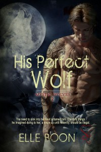 his perfect wolf, elle boon, erotic romance, paranormal romance, lynne st. james