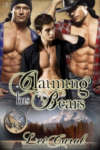 Lei Carol, Claiming His Bears, Cascade Pack, gay romance, gay, erotica, m/m, m/m/m, jk publishing, lynne st. james, new release, author spotlight, release, erotic romance