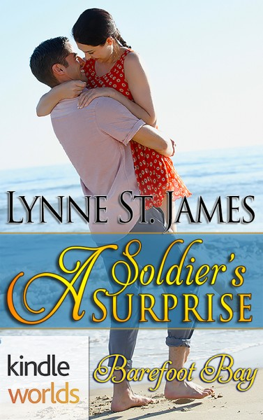 Barefoot Bay: A Soldier's Surprise (Kindle Worlds Novella) Beyond Valor #2