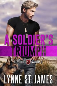 A Soldier's Triumph, beyond valor, second chances, wounded warriors, romantic suspense, lynne st. james