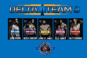 Delta Team 3 Series Covers
